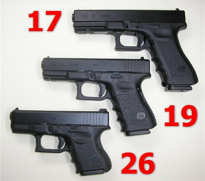 Glock 9mm Family-17-19-26