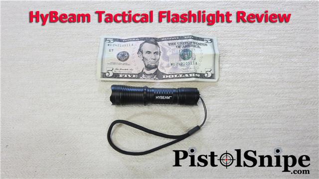 hybeam tactical flashlight