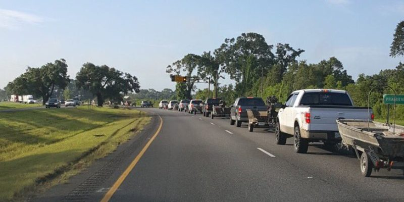 cajun navy protected by bullet vests